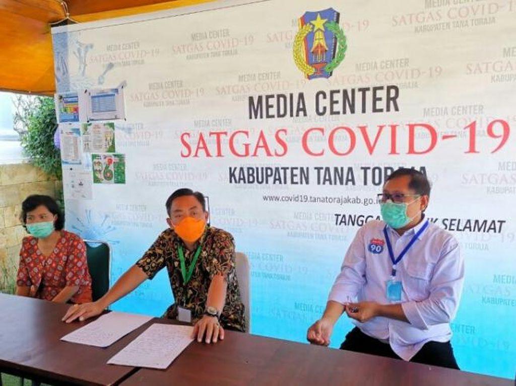 Pandemi Corona, 7 Warga Tana Toraja Positif Berdasarkan Rapid Test