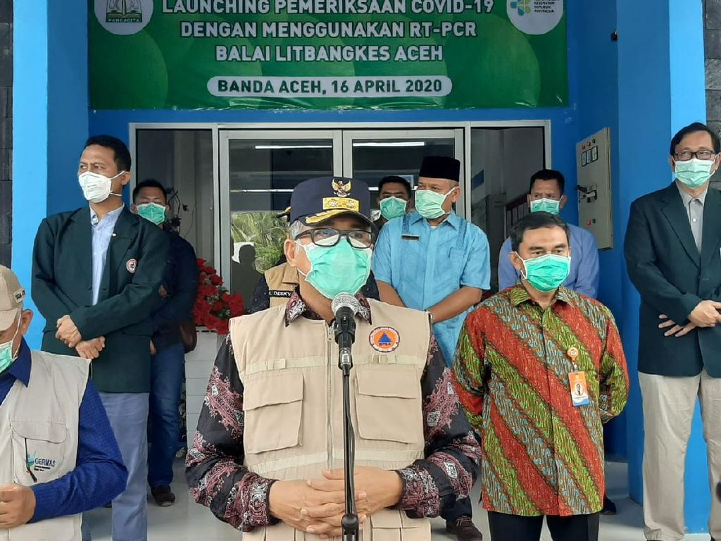 Plt Gubernur Aceh Teken Pergub Penanganan Corona, Atur soal Jam Malam