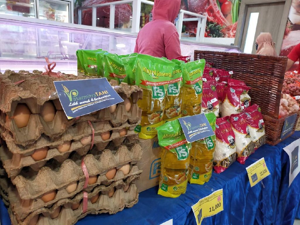 Jelang Puasa, Pasar Mitra Tani Gelar Pasar Murah Beras sampai Minyak