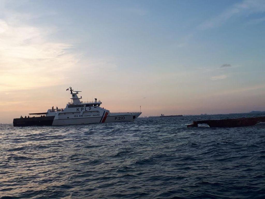 Kemenhub Awasi Kapal Asal Dominica yang Karam ke Perairan RI