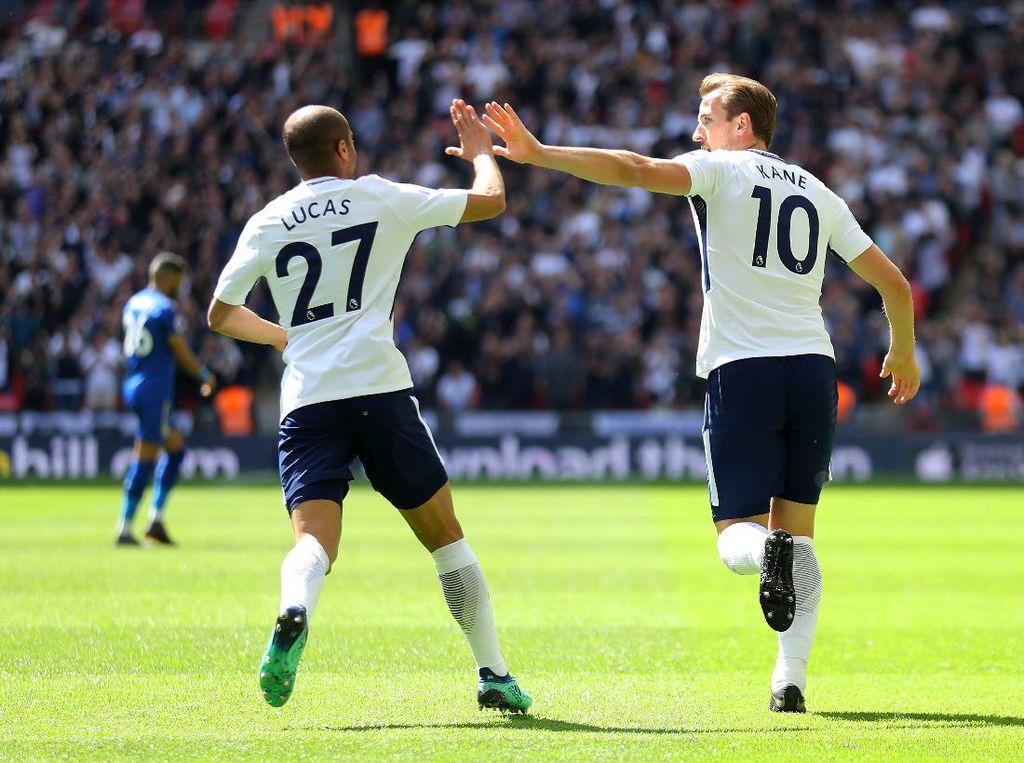 Lucas Moura Tak Rela Harry Kane Dijual Tottenham