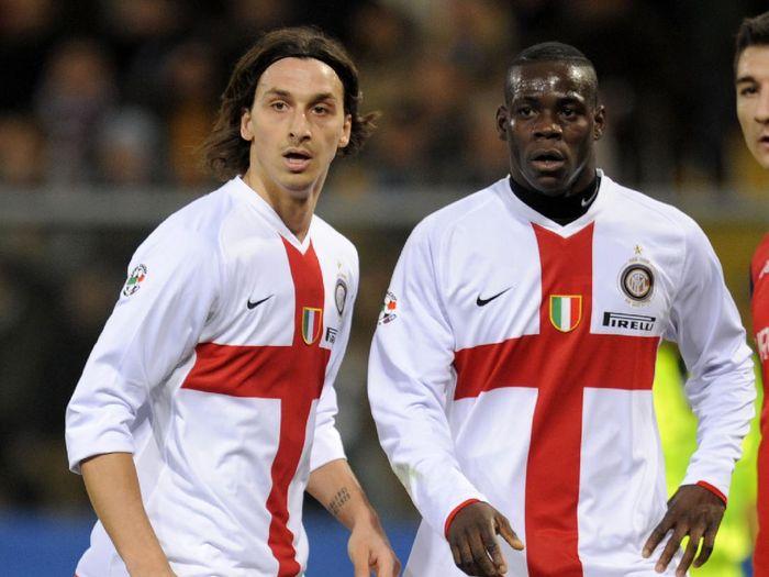 Zlatan Ibrahimovic dan Mario Balotelli