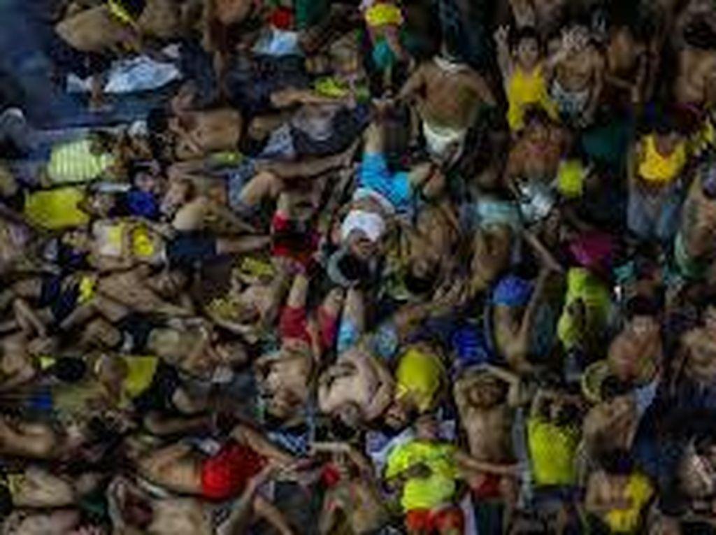 Bentrok Antar Geng di Penjara Filipina, 9 Napi Tewas