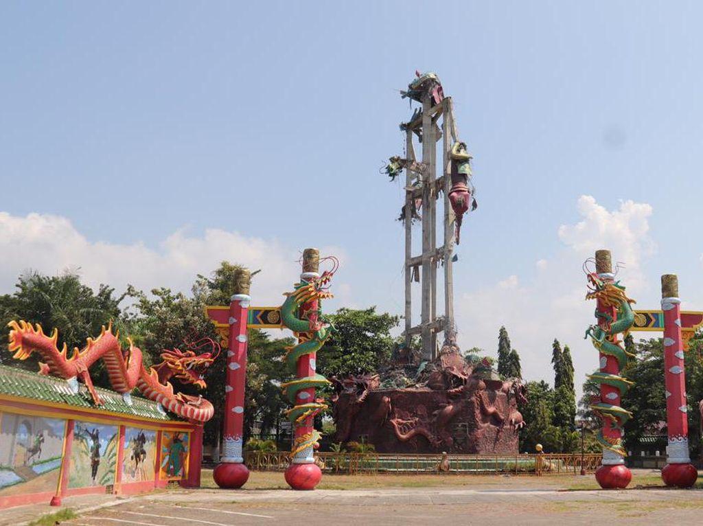 Patung Dewa Setinggi 30 Meter di Tuban Runtuh, Polisi Periksa 4 Saksi