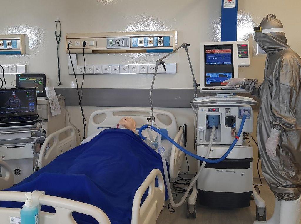 Kekurangan, Tenaga Kesehatan dan Dokter Paru RS Unair Diperbantukan ke RSKI