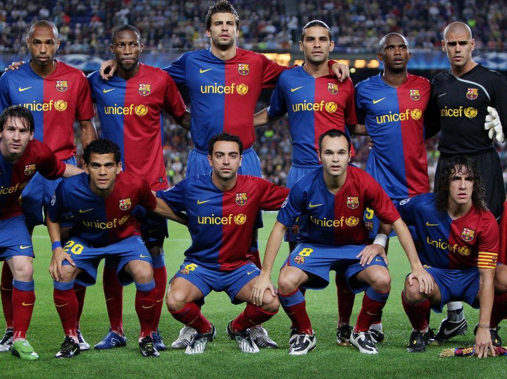 Generasi Xavi-Iniesta, Pertama dan Satu-satunya di Barcelona