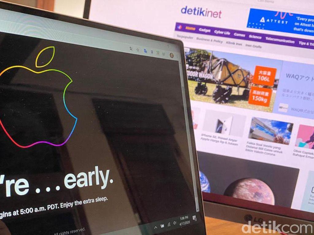 Situs Apple Store Down Jelang Pre-order iPhone SE
