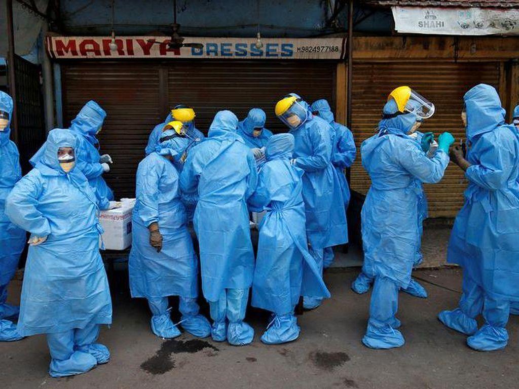 Sebulan Lockdown, Lebih dari 27 Ribu Orang Positif Corona di India