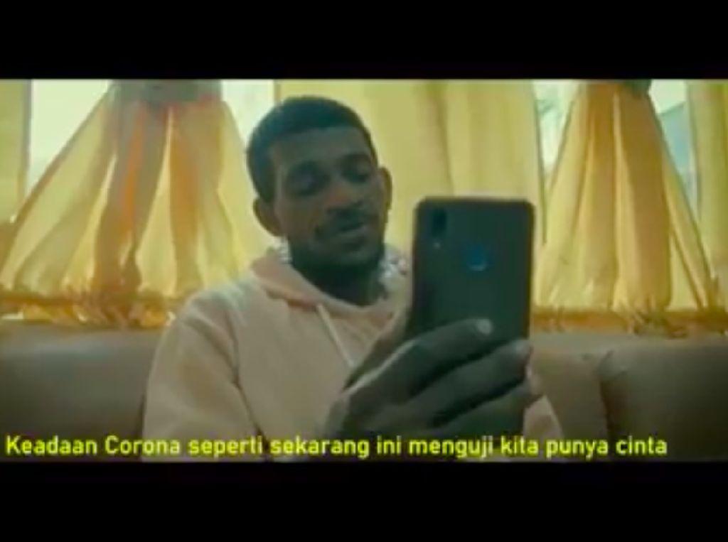 Sa Pu Cinta Dilockdown, Tayangan Polisi Kota Jayapura Cegah Corona