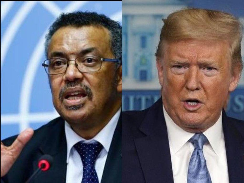 Trump vs WHO soal Penanganan Corona, Kamu Dukung Siapa?