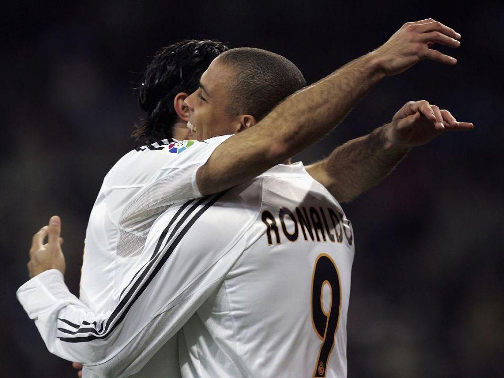 Candaan Ronaldo Tentang Istrinya Luis Figo