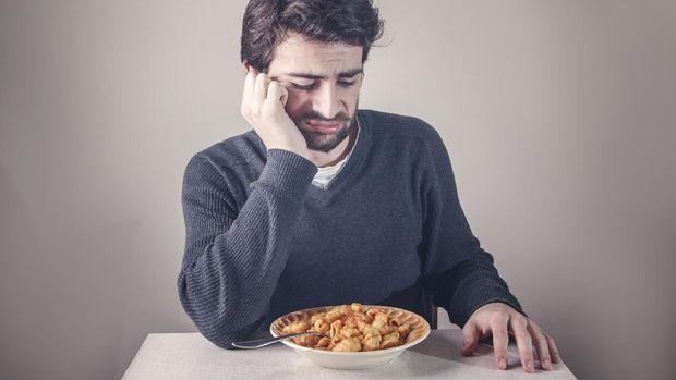 ilustrasi malas makan
