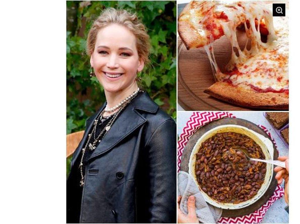 Selena Gomez hingga Jennifer Lawrence, 5 Seleb Ini Gemar Kombinasi Makanan Aneh