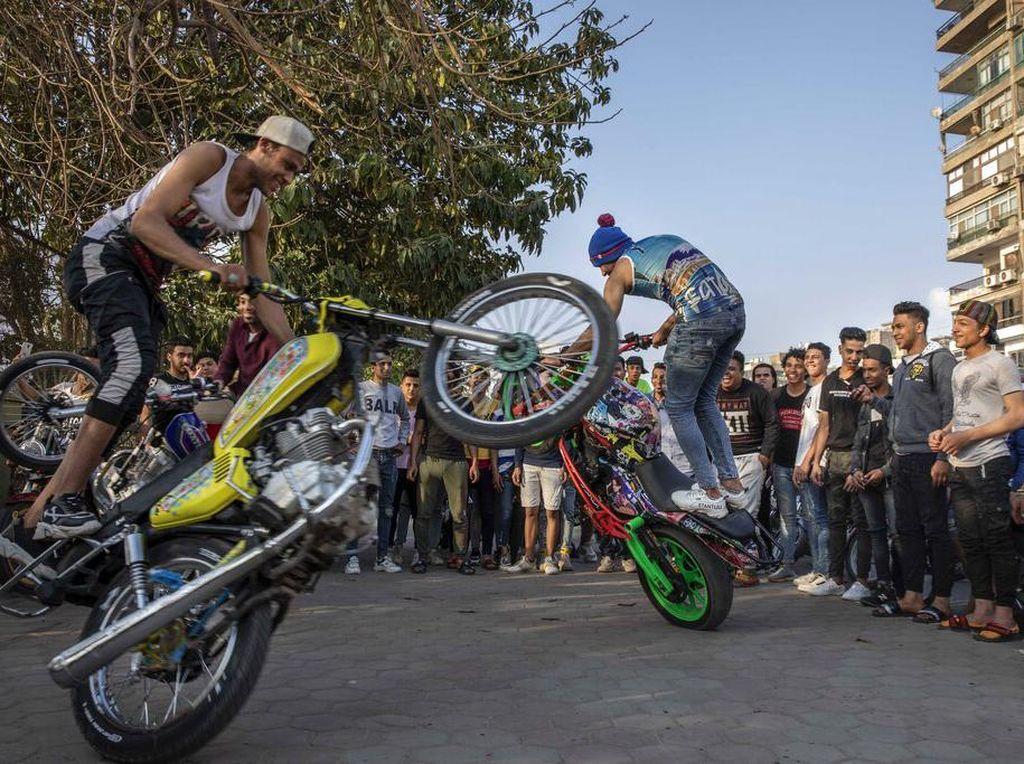 Intip  Aksi Freestyle di Kairo untuk Rayakan Pesta Pernikahan