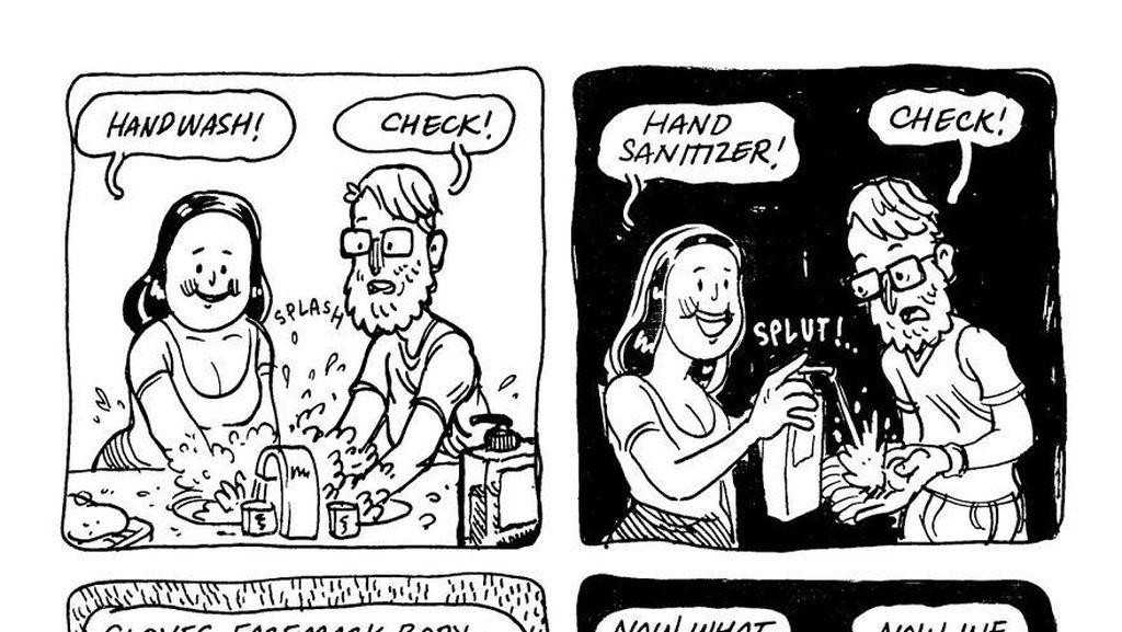 Komik Lucu Isolasi Diri Ini Bakal Bikin Kamu Senyum dan Ketawa-ketawa Sendiri