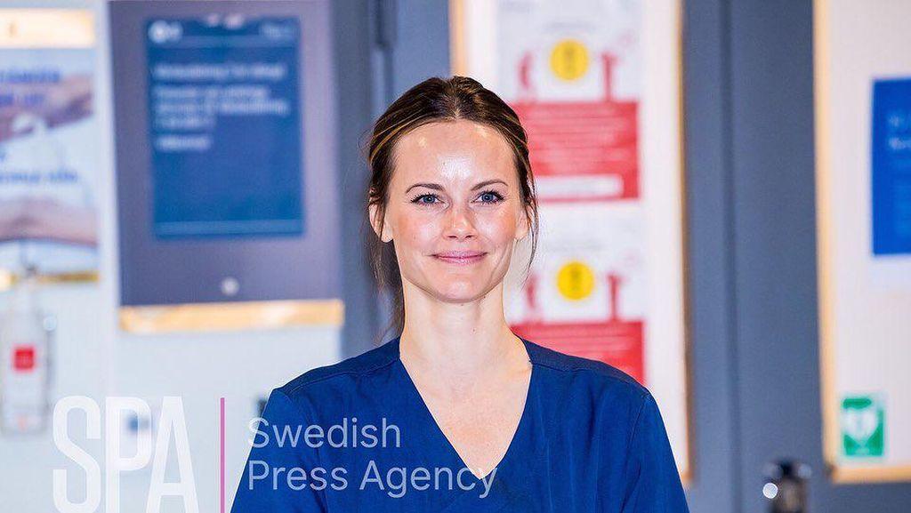 Potret Putri Sofia dari Swedia yang Kerja di RS untuk Bantu Pasien Corona