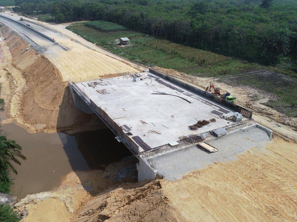Jalan Tol Pekanbaru-Dumai Mulai Dibuka Pekan Depan