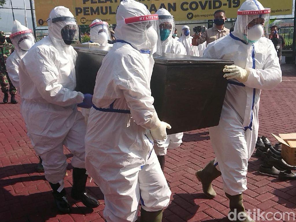845 Meninggal dari 11.192 Kasus, Tingkat Kematian Corona RI Jadi 7,55 Persen