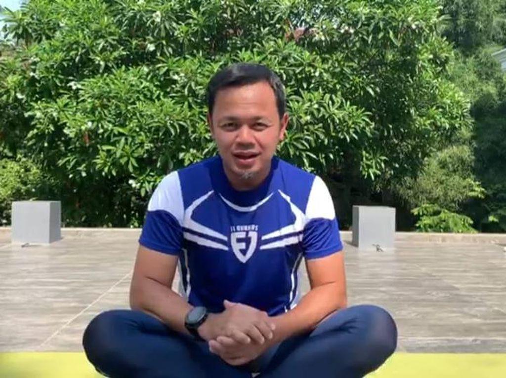Soal Olahraga Saat Pandemi Corona, Ini Pesan Wali Kota Bogor Bima Arya