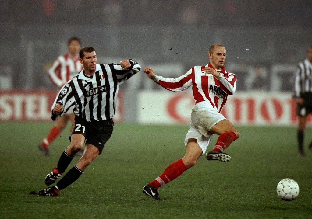 Zinedine Zidane (kiri) saat di Juventus