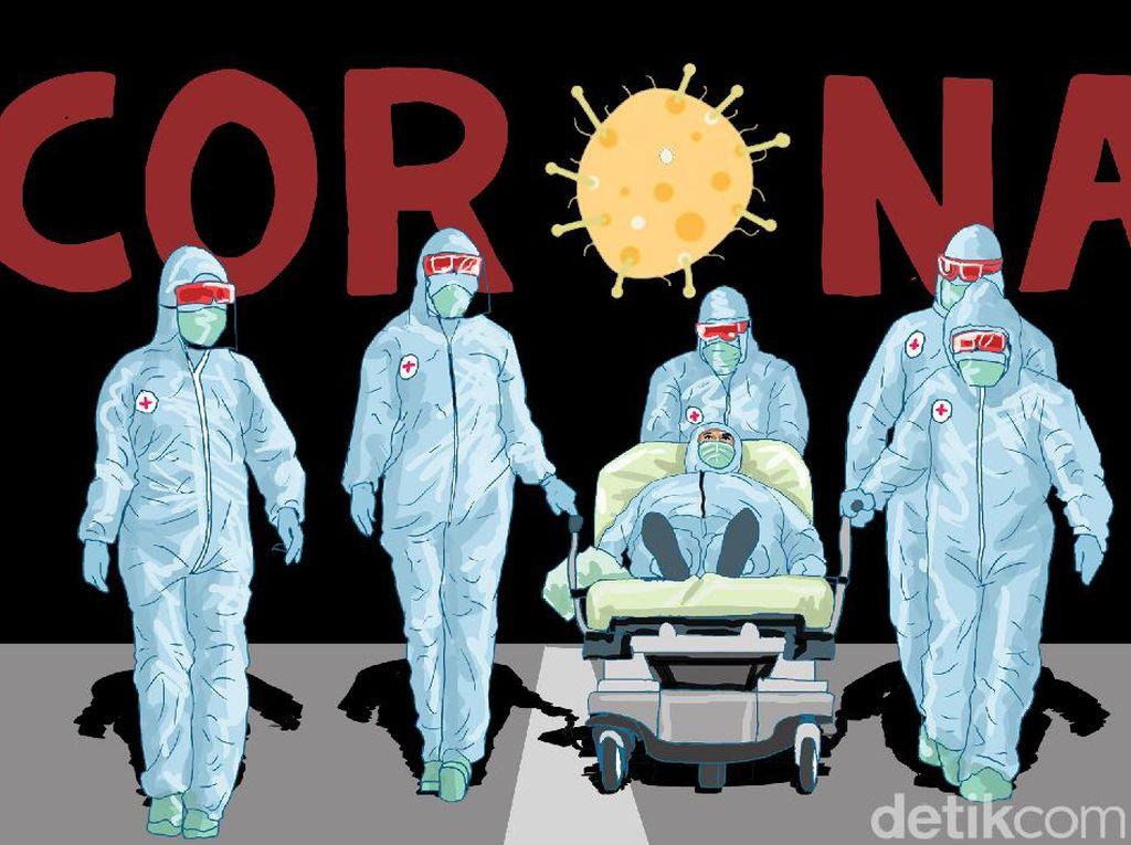 Polisi di Makassar Berstatus PDP Corona Meninggal Dunia