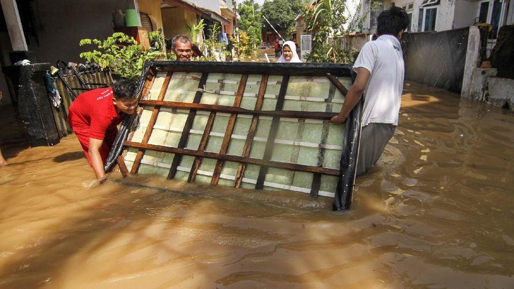 Bukit Sawangan Indah Depok Kebanjiran