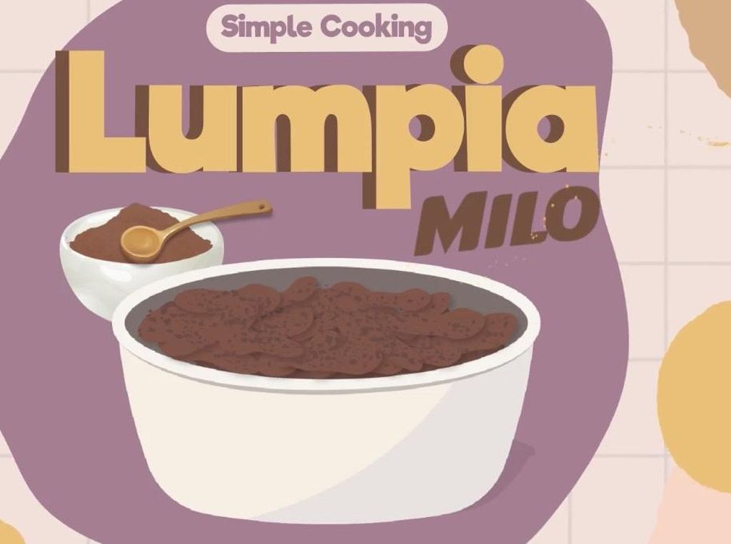 Masak Mudah Resep Camilan Lumpia Milo