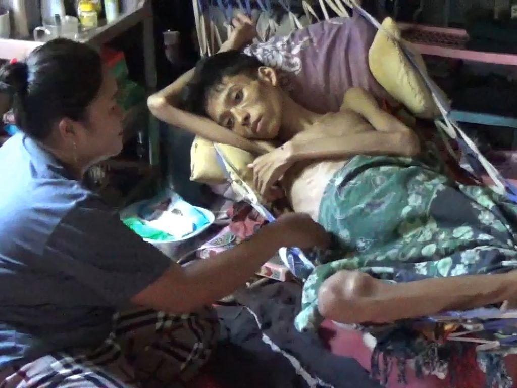 Tolong, Penderita Kanker Usus di Parepare Butuh Bantuan