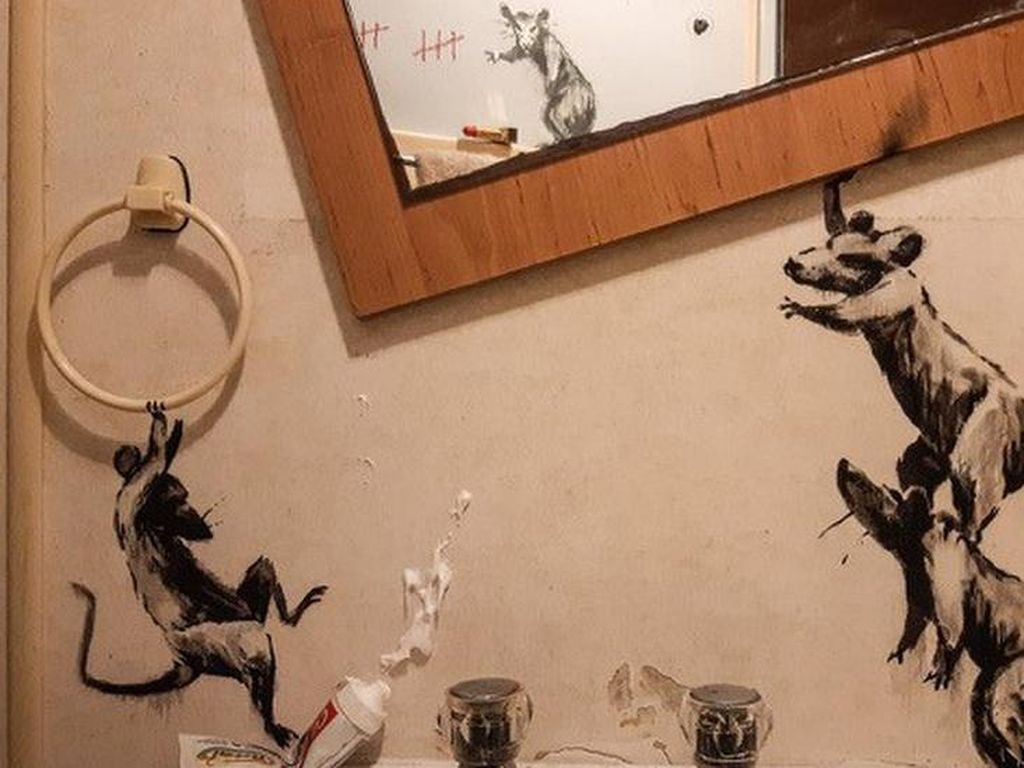 Banksy Cemerlang di Momen Pandemi, Apa Aksi Selanjutnya di 2021?