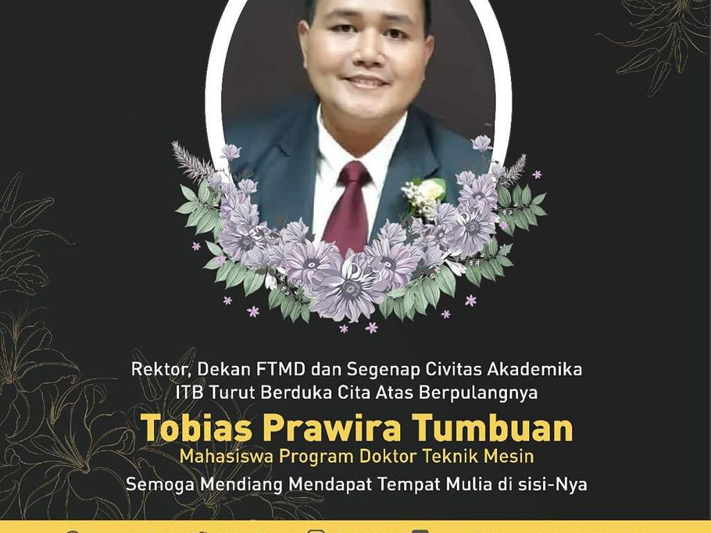 Mahasiswa Doktoral ITB Meninggal Terpapar Corona di RSHS Bandung