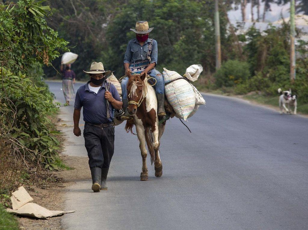 Potret Petani Dataran Tinggi Guatemala di Tengah Pandemi Corona