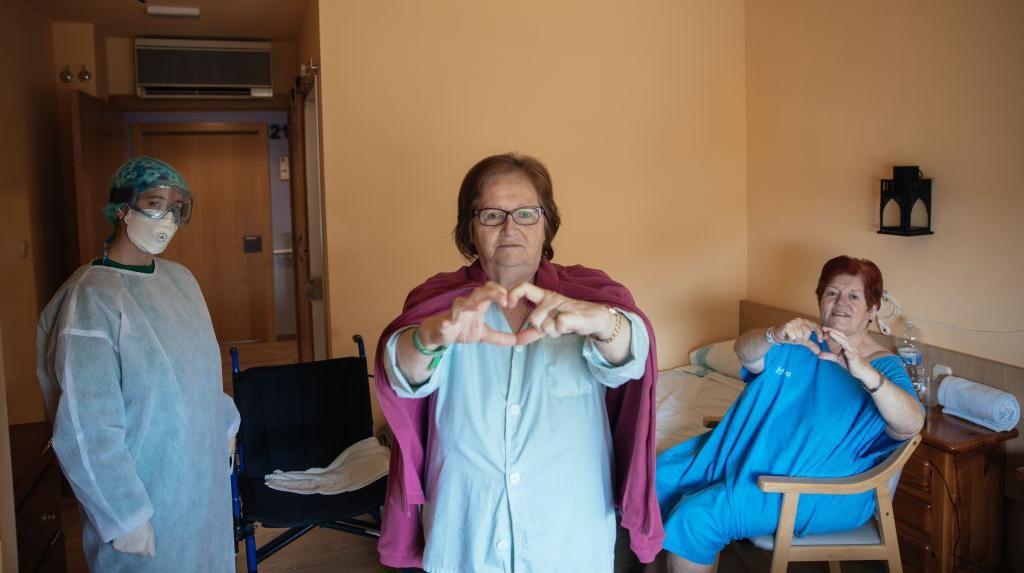 Potret Semangat dan Perjuangan Pasien COVID-19 untuk Sembuh