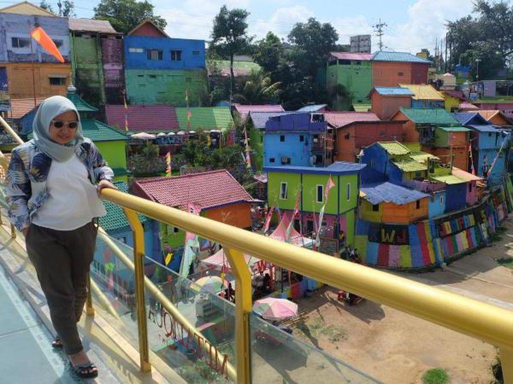 Potret Jodipan, Kampung Kumuh yang Disulap Jadi Berwarna
