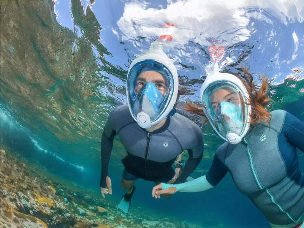 Keren! Italia Manfaatkan Masker Snorkeling Jadi Ventilator