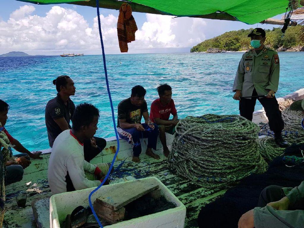 Nekat Berlayar saat Pandemi, 25 Nelayan Asal Sulsel Diminta Lompat ke Laut