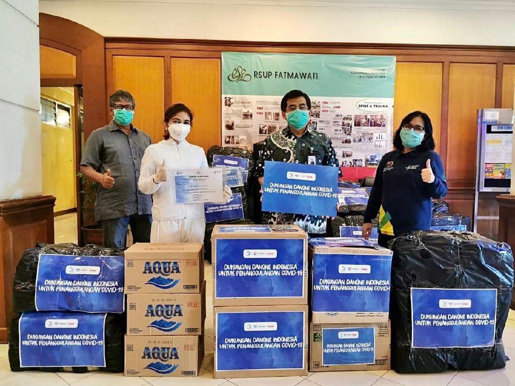 Danone Indonesia Sumbang Rp 30 M Bantu Atasi COVID-19 di Indonesia