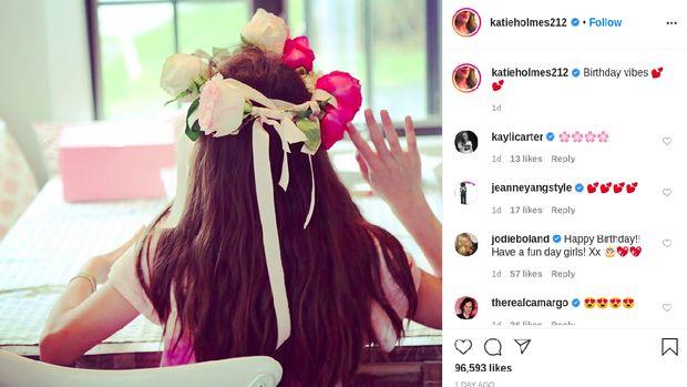 Katie Holmes rayakan ultah Suri Cruise
