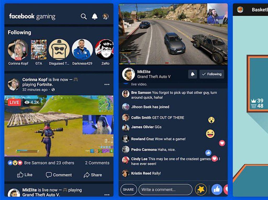 Facebook Kebut Aplikasi Gaming karena Pandemi Corona