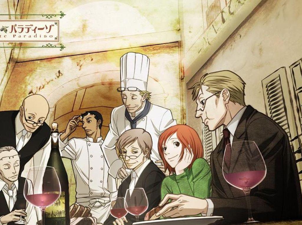Penuh Makanan Enak, 5 Anime Seru Dari Jepang Ini Bikin Laper