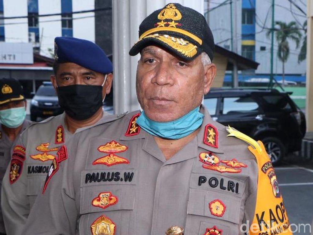 Polisi Amankan Atribut Kelompok Separatis di Bandara Oksibil Papua
