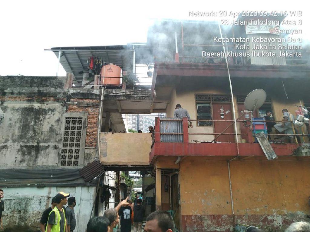 Kebakaran di Senopati, Damkar: Api dari Rice Cooker yang Korslet