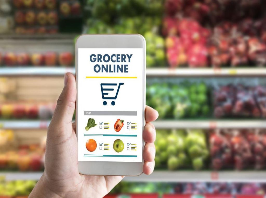 Bisa Belanja Online Bahan Makanan di 5 Supermarket  Ini