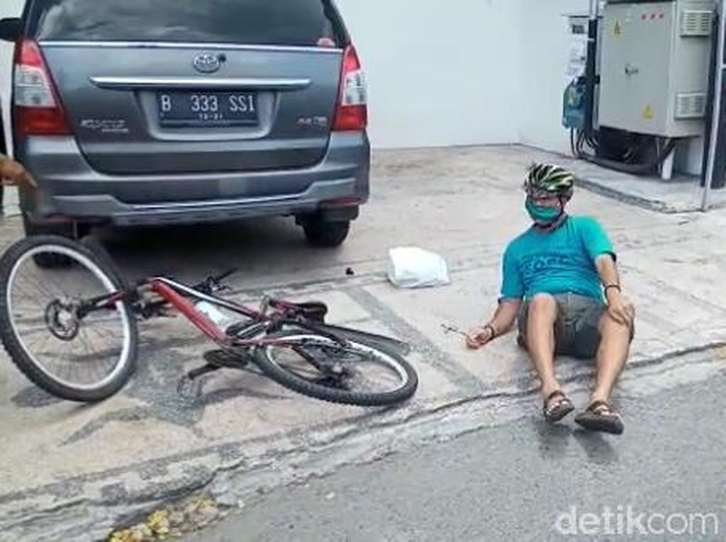 Dikira Corona, Warga Ambon Mendadak Jatuh Saat Bersepeda Punya Riwayat Epilepsi