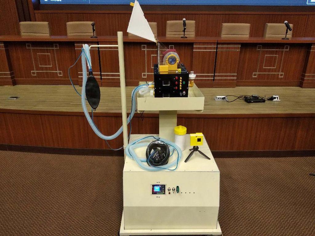 Salut! Sekelompok Mahasiswa Kembangkan Ventilator Berbasis IoT