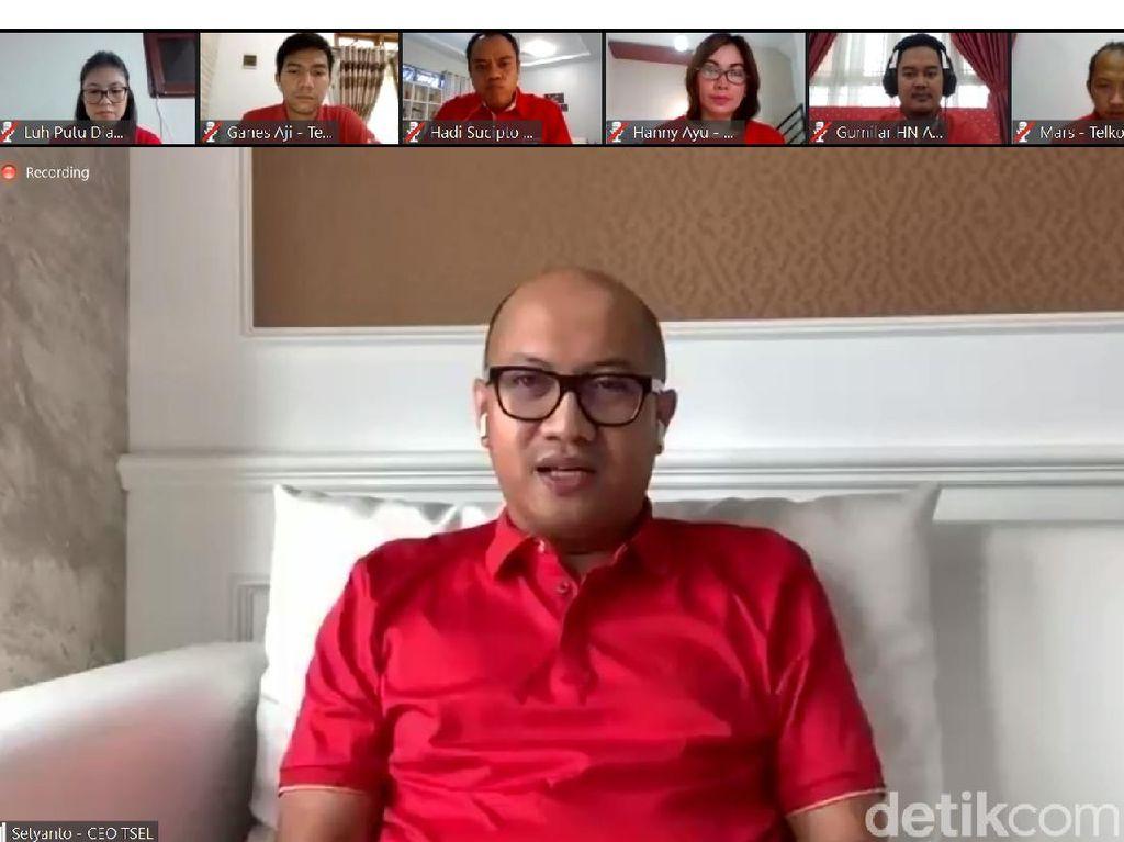 Terbukti Aman, CloudX Telkomsel Pesaing Zoom Dipakai Ratas Jokowi