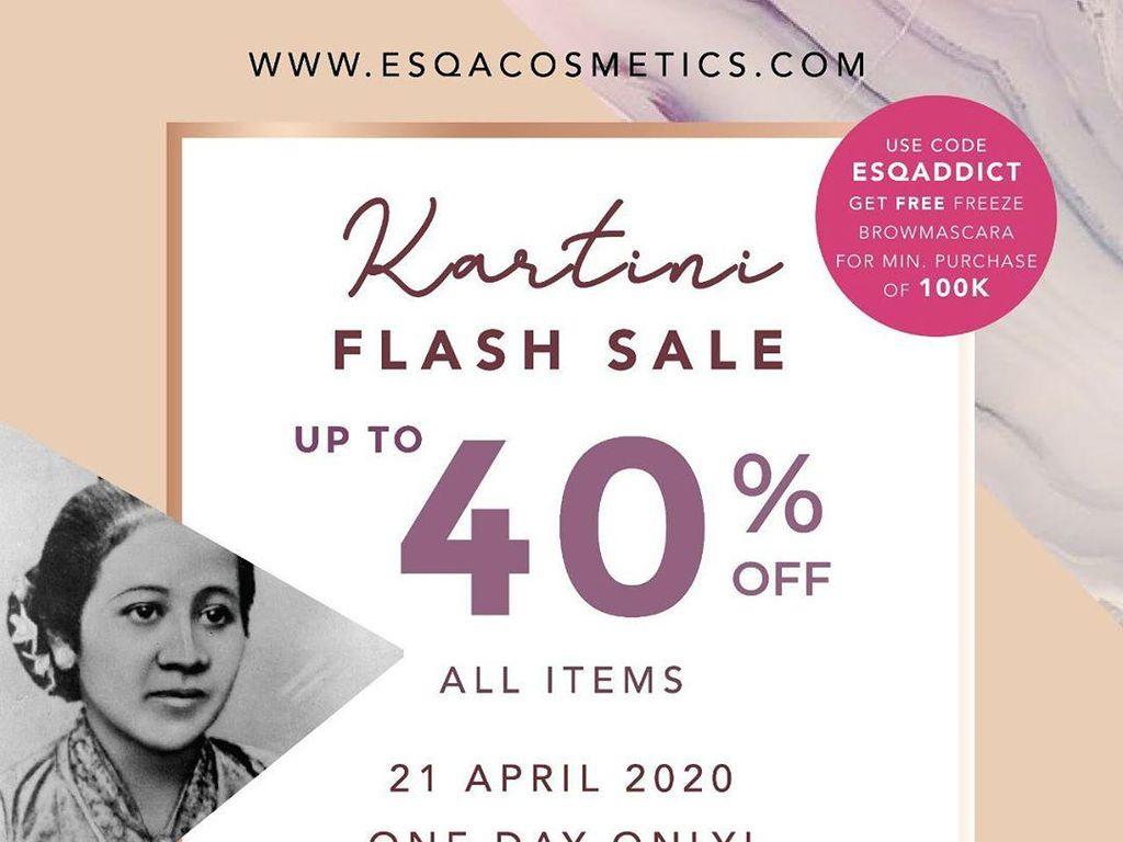 Rayakan Hari Kartini, Ini 8 Brand Kosmetik yang Diskon Hingga 50%