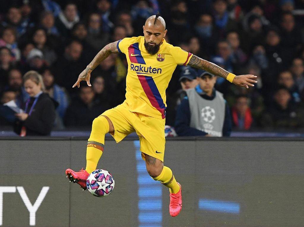 Vidal Masih Bahagia di Barcelona, tapi...