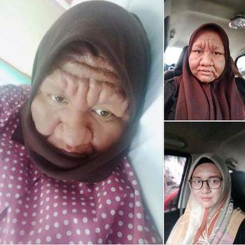 Duh, Wajah Wanita Cantik Ini Jadi Mirip Nenek-nenek karena Hamil