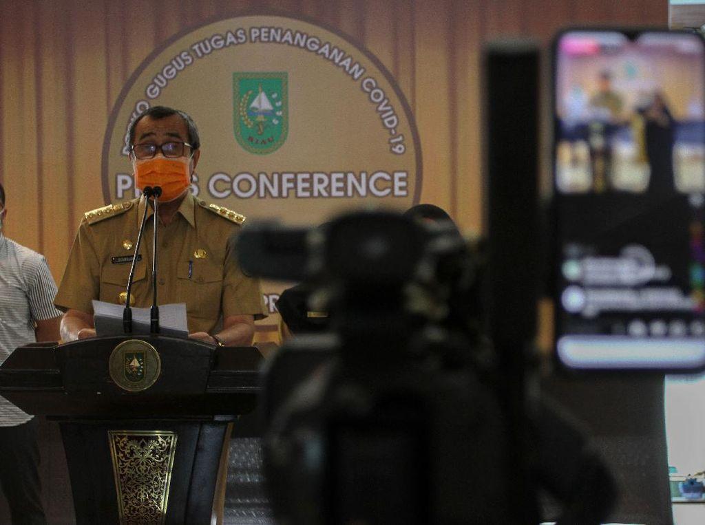 Gubernur Wajibkan ASN Riau Tes Swab Usai Pulang Dinas Luar Daerah