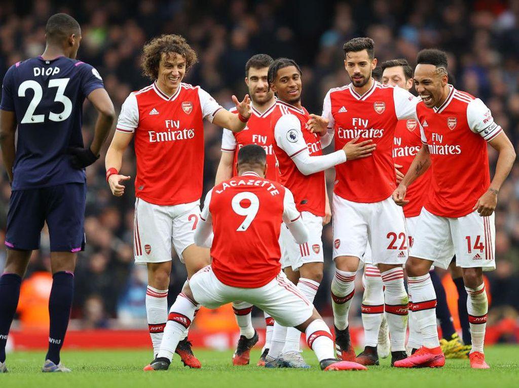 Arsenal Tetap Pede Kejar Tiket Liga Champions
